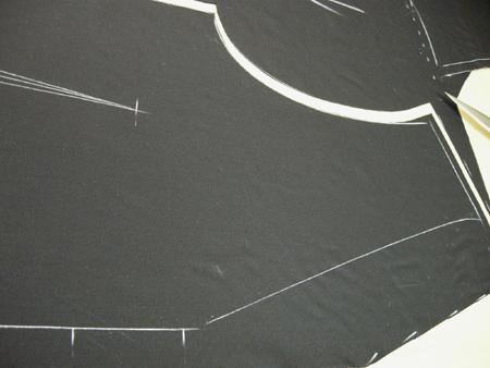 徳島県 Sさまのスーツ3 仮縫い