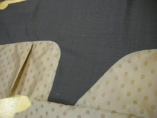大阪市 Tさまのスーツ3