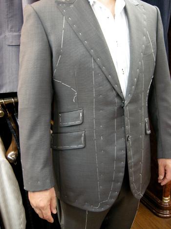 大阪市 Tさまのスーツ8