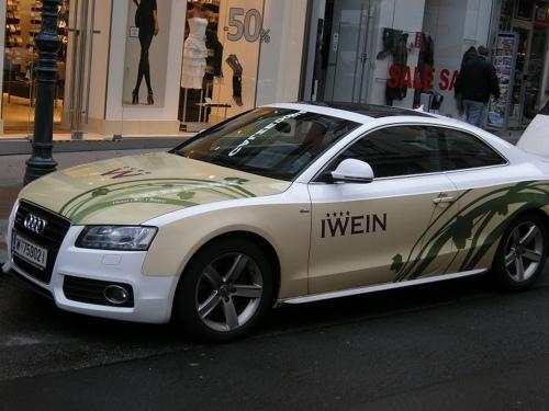 ウィーンで見つけた車