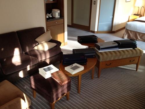 東京出張 in 帝国ホテル
