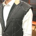 神戸市 T様のオーダースーツ仮縫い 2008.08.25