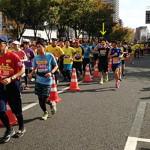 走ってきました、大阪マラソン。