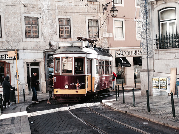リスボン路面電車1