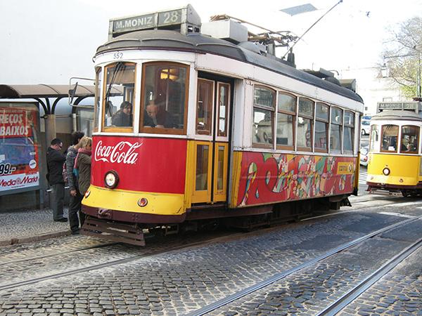 リスボン路面電車2