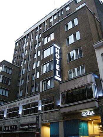 アントワープのホテル