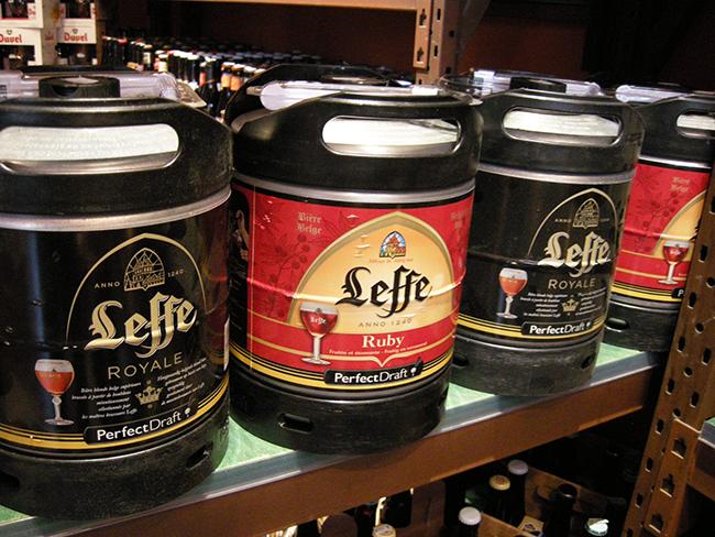 ベルギービール樽