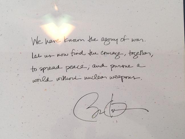オバマ大統領のメッセージ