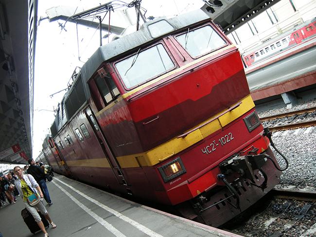 サンクトペテルブルグ 電車