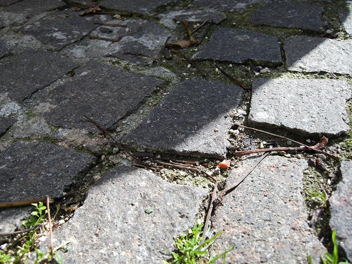 コルレオーネ村 石畳