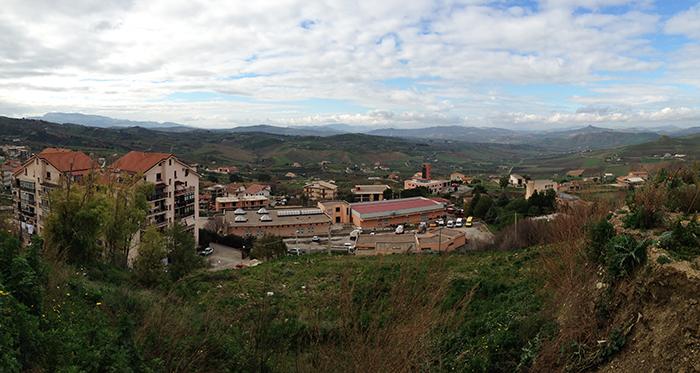 コルレオーネ村 風景