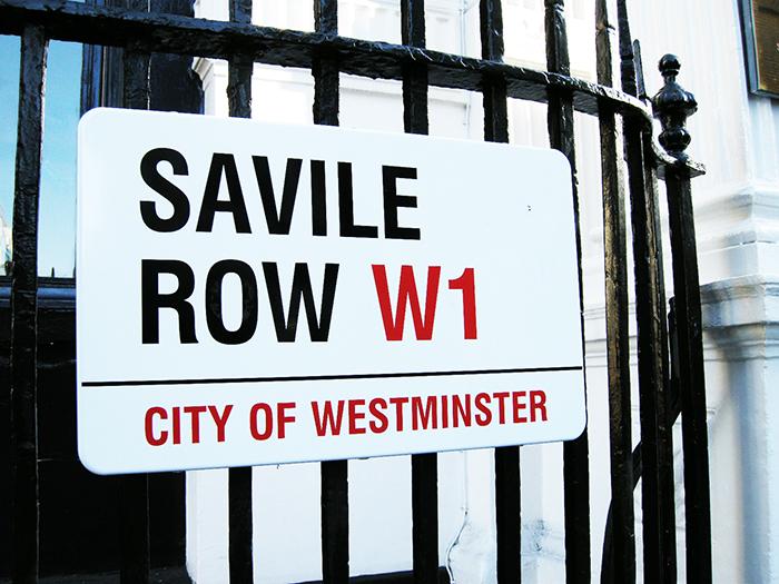 savile row w1