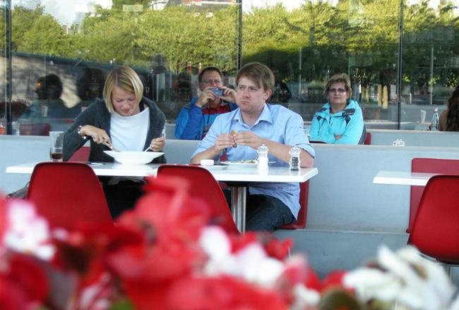 アムステルダム カフェ