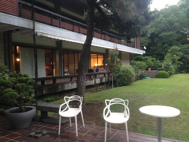 イタリア大使館庭園