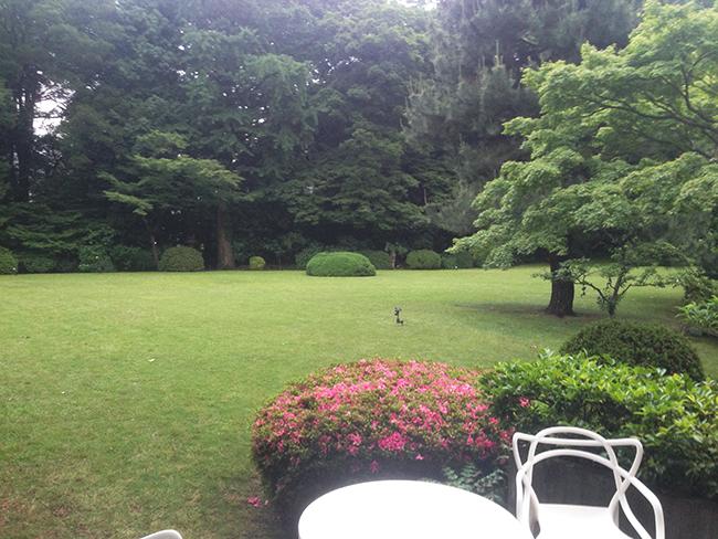 イタリア大使館庭園2