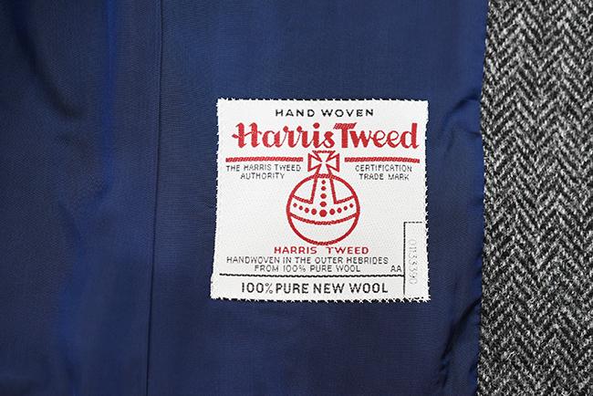 ハリスツイード織りネーム