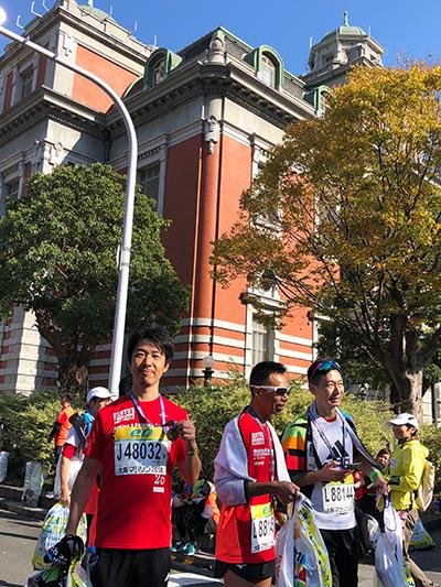 大阪マラソンフィニッシュ