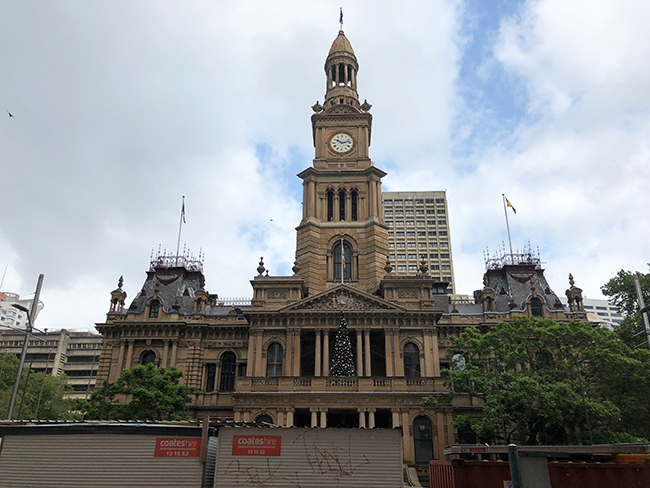 シドニー市庁舎