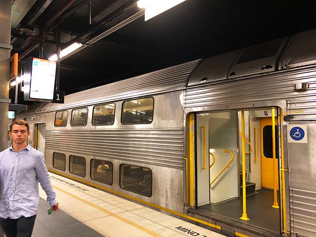 シドニー電車