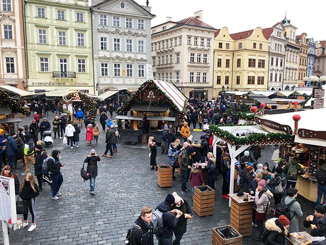プラハ クリスマスマーケット2